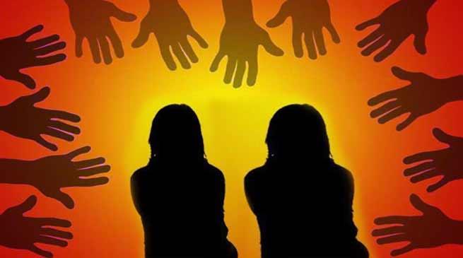 बिहार: दो बहनों के साथ आठ लोगों ने किया रेप