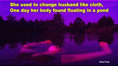 Photo of MP: वह कपड़ों की तरह पती बदलती थी, एक दिन तालाब में तैरती मिली लाश