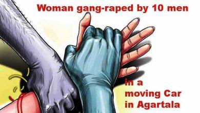 Photo of अगरतला: चलती कार में महिला के साथ 10 लोगों ने किया सामूहिक बलात्कार, फिर सड़क के किनारे फेंक दिया
