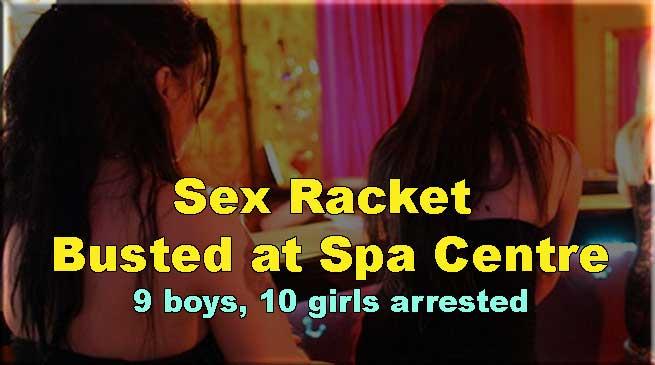 NCR: स्पा सेंटर में चल रहा था देह व्यापार का धंधा,9 युवक व 10 युवतियां मिली आपत्तिजनक हालत में